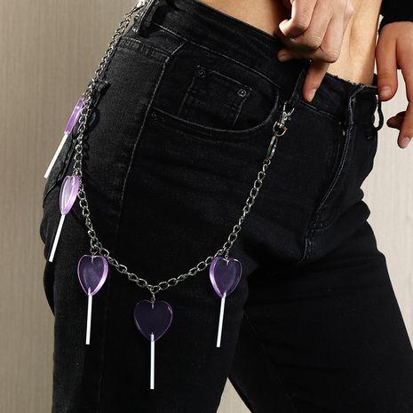 new fashion  creative sweet waist chain  NHAU278736's discount tags