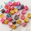 Korean resin flower cute hair clip NHAU278738