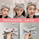 Korean cute comfortable wide side hair band NHWF278746