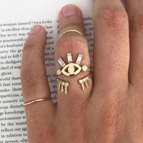 Mode New Eye Zirkon Ring NHAJ278788's discount tags
