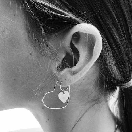 Boucles d'oreilles mode coeur pêche NHAJ278795's discount tags