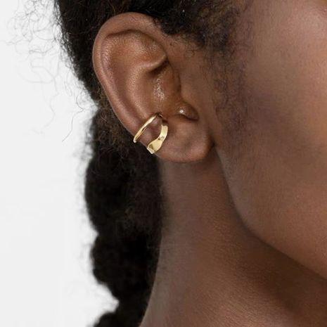 simple irregular ear clip  NHYQ278814's discount tags