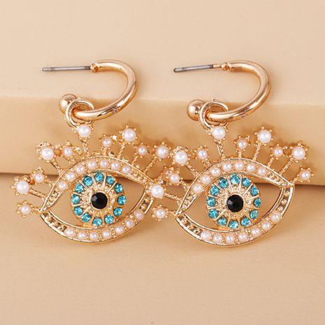 fashion  color  diamond  eyes wild earrings NHJJ278896's discount tags