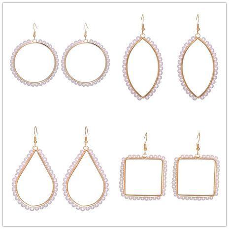 retro fashion alloy imitation pearl earrings NHJJ278911's discount tags