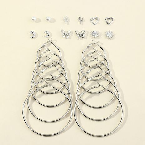 circle earrings 6-piece set NHNZ278932's discount tags