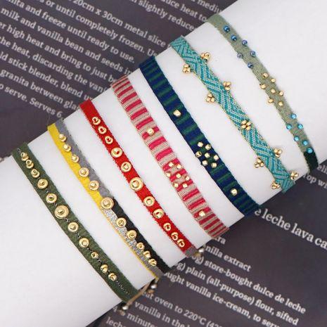 Pulsera de pareja de múltiples capas hecha a mano de arte bohemio NHGW278984's discount tags