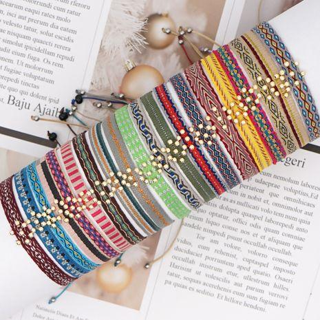 pulsera de pareja hecha a mano bohemia cuerda de mano retro NHGW278986's discount tags