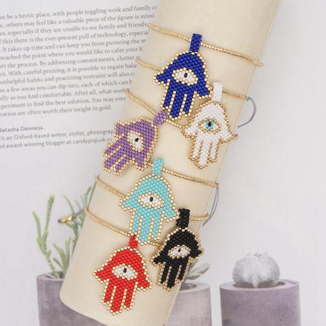 Pulsera pareja bohemia pulseras de oro con cuentas a mano NHGW278993's discount tags