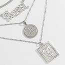 fashion retro alloy necklace set NHXR279013