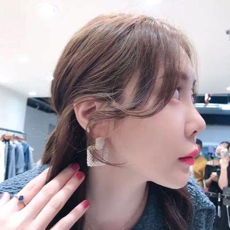 boucles d'oreilles carrées creuses NHYQ279119's discount tags