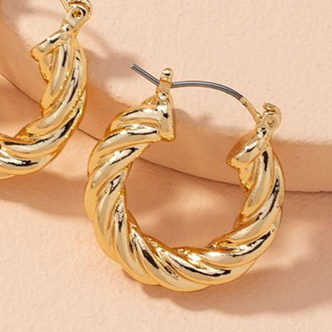 retro twisted exaggerated earrings  NHAI279166's discount tags