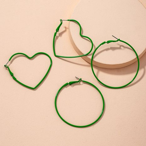 multicolor fashion big hoop earrings  NHAI279169's discount tags