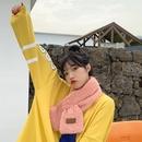 new Solid color casual retro Korean fashion scarf NHTQ279236