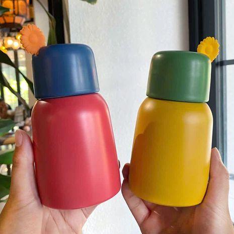 Cute little flower handle mini vacuum flask  NHtn279465's discount tags