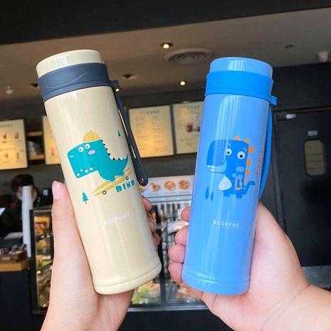 Korean  cute cartoon printing vacuum flask  NHtn279482's discount tags