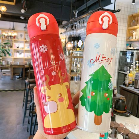 cute cartoon Christmas  304 stainless steel cup NHtn279493's discount tags