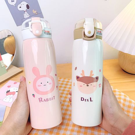 creative  cute pet pop-lid straw insulation cup  NHtn279516's discount tags