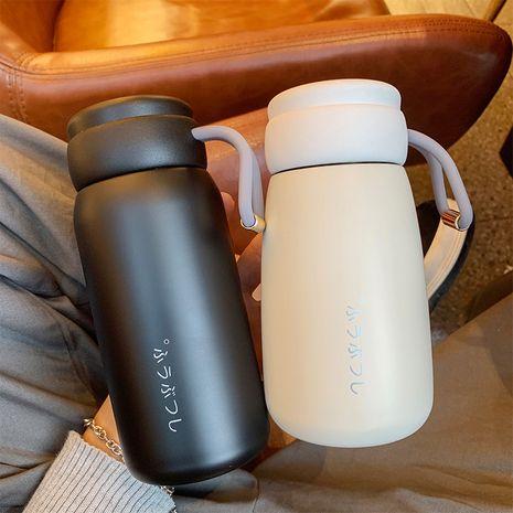 Taza de color puro simple Taza de agua anticaída de deportes con mango mini lindo NHtn279517's discount tags