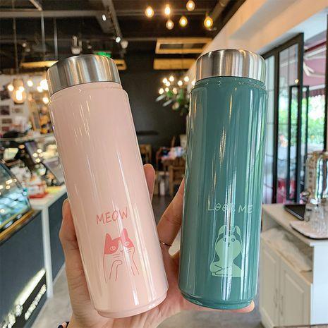 linda taza de agua aislada de acero inoxidable 304 compacta y compacta portátil NHtn279536's discount tags