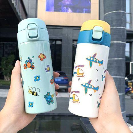 Taza termo portátil de los niños de la impresión de la historieta de la moda NHtn279549's discount tags