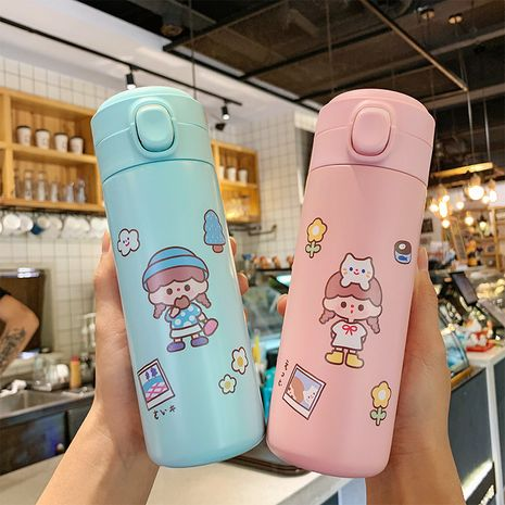 Cartoon cute  bomb water cup large capacity anti-fall water cup  NHtn279557's discount tags