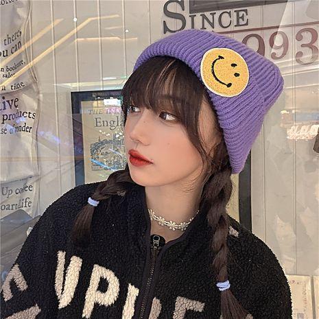 sombrero grueso de lana de punto de moda NHCM279608's discount tags