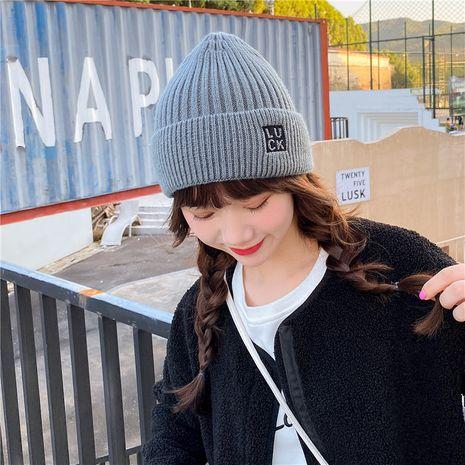 Sombrero de punto de moda coreana NHCM279619's discount tags