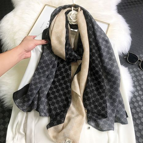 new cotton and linen warm fashion scarf  NHCJ279698's discount tags