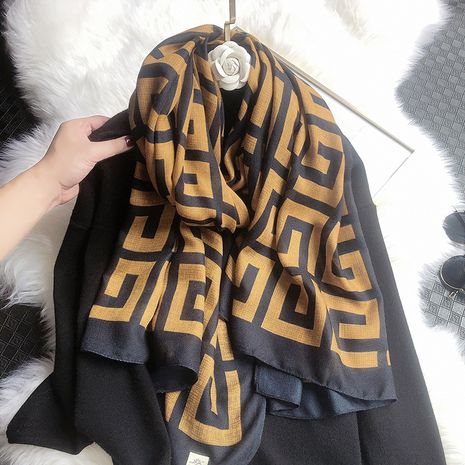 new cotton and linen fashion scarf NHCJ279700's discount tags