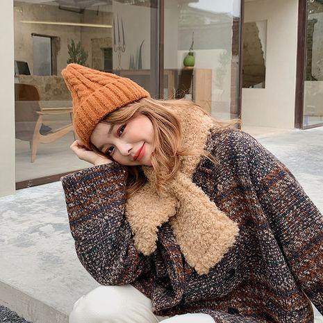 Bufanda de lana coreana NHCJ279719's discount tags