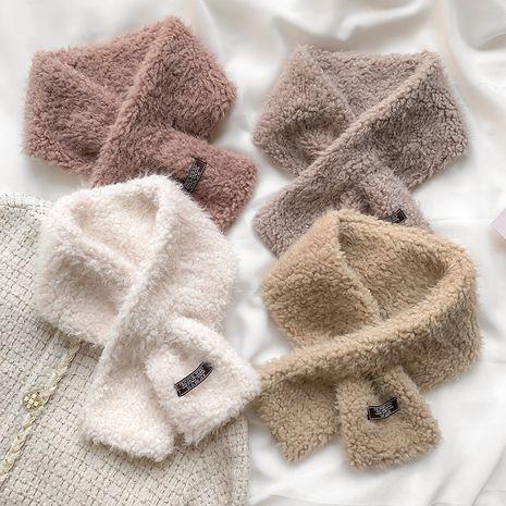 bufanda cálida de lana de cordero de imitación NHCJ279726's discount tags