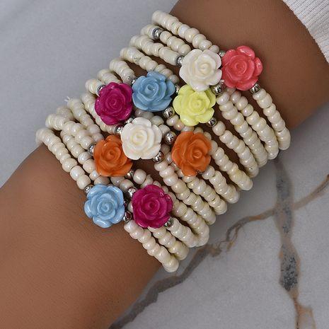 multi-layer rice bead bracelet set NHAJ280002's discount tags
