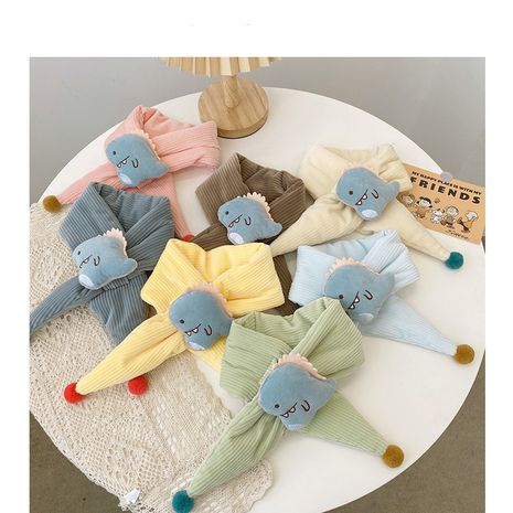 Korean  thickening warm children's scarf  NHQU279253's discount tags