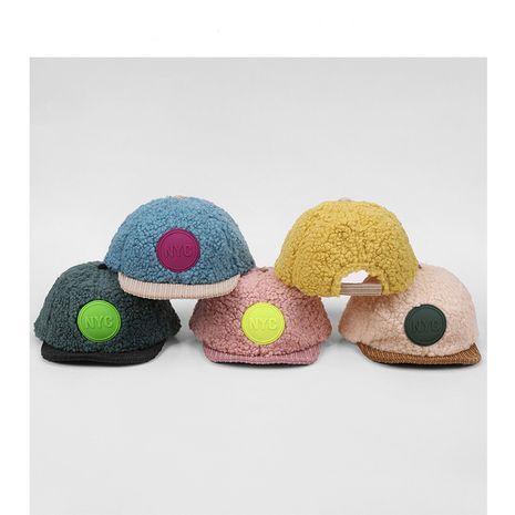 gorra de béisbol inglesa de lana de cordero NHQU279260's discount tags