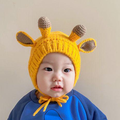 más sombrero de lana con protección auditiva de asta para niños lindos NHQU279275's discount tags