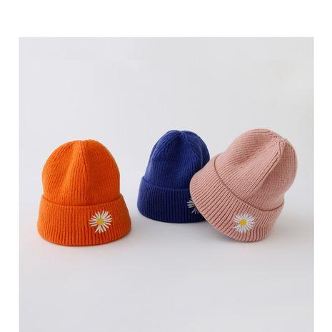 Sombrero de lana bordado infantil NHQU279294's discount tags