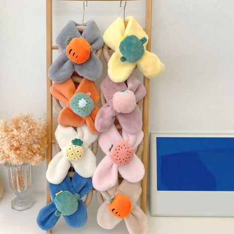cartoon cute  plush fruit scarf NHQU279320's discount tags