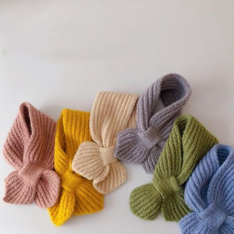 solid color scarf  NHQU279324's discount tags