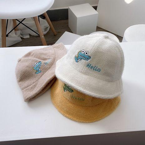 sombrero de lavabo de letra mohair de dibujos animados NHQU279333's discount tags