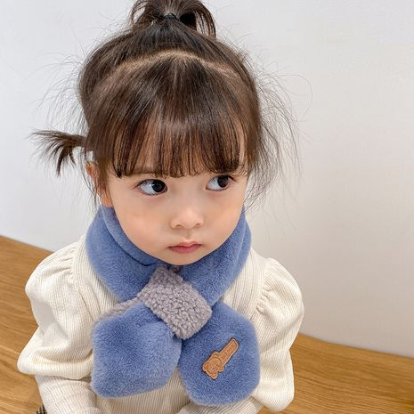 plush toddlers soft scarf  NHQU279338's discount tags
