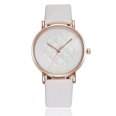 Reloj de cuarzo romano con cinturón ultrafino NHSS279351's discount tags