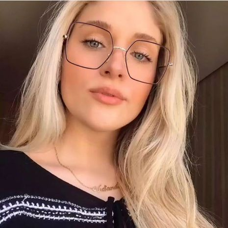 New fashion square full frame glasses  NHFY279363's discount tags