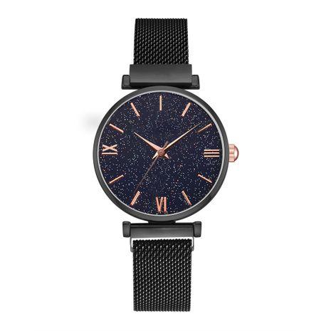 Reloj de cuarzo con cinturón de malla Gypsophila NHSY279372's discount tags