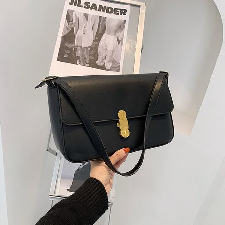 Mode einfarbig kleine quadratische Tasche NHLH279755's discount tags