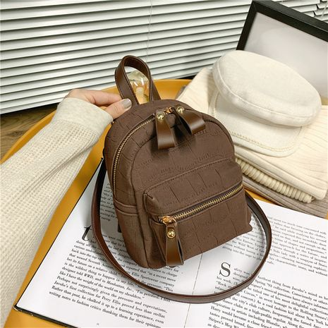 Dual-use Retro Backpack Shoulder Bag NHJZ279769's discount tags