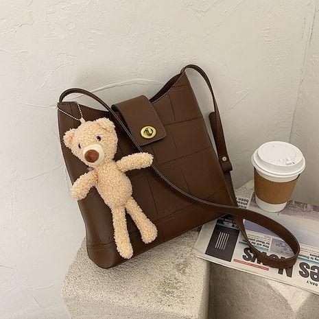 Mode Schulter All-Match Messenger Bucket Bag NHJZ279771's discount tags