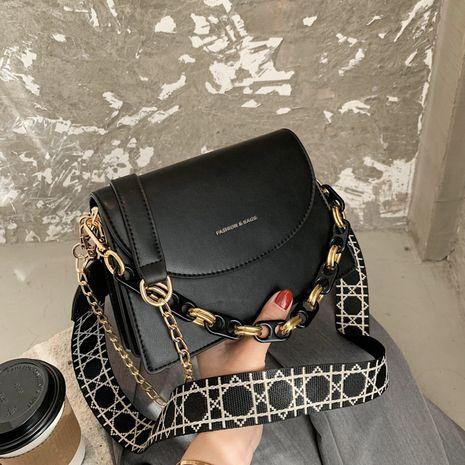 Kleine quadratische Tasche des koreanischen Modeschulterboten NHJZ279794's discount tags