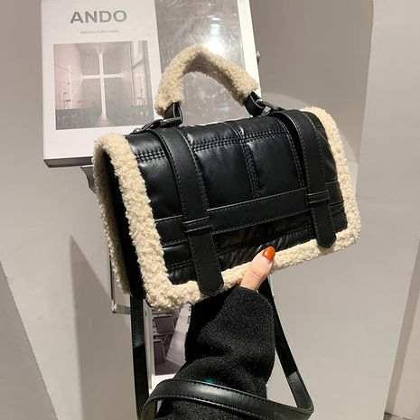 Fashion furry  large capacity messenger bags NHJZ279795's discount tags