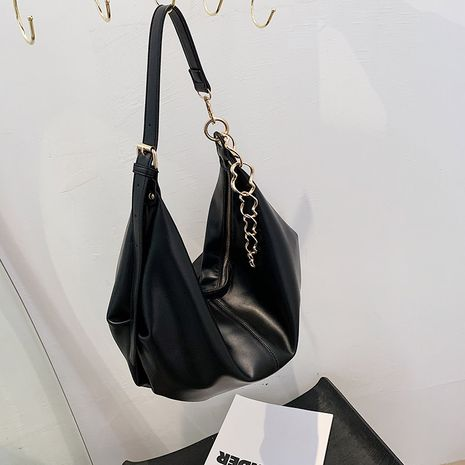 Simple casual fashion one-shoulder bag  NHRU279838's discount tags