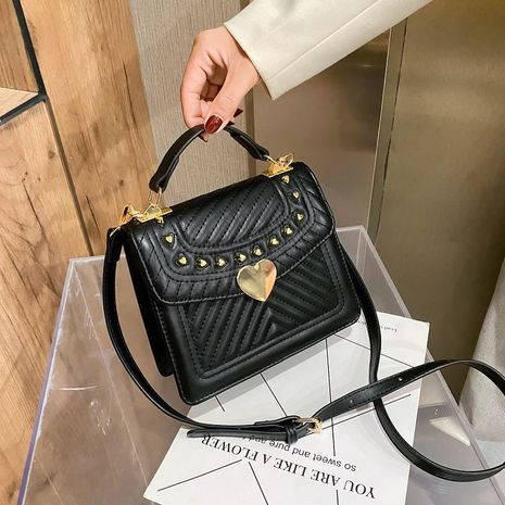fashionable messenger one-shoulder small square bag  NHJZ279907's discount tags